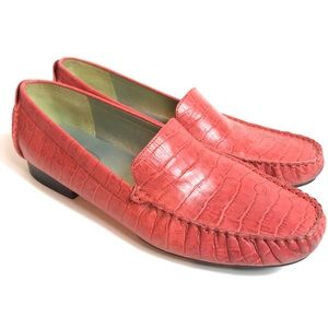 Talbots leather loafers